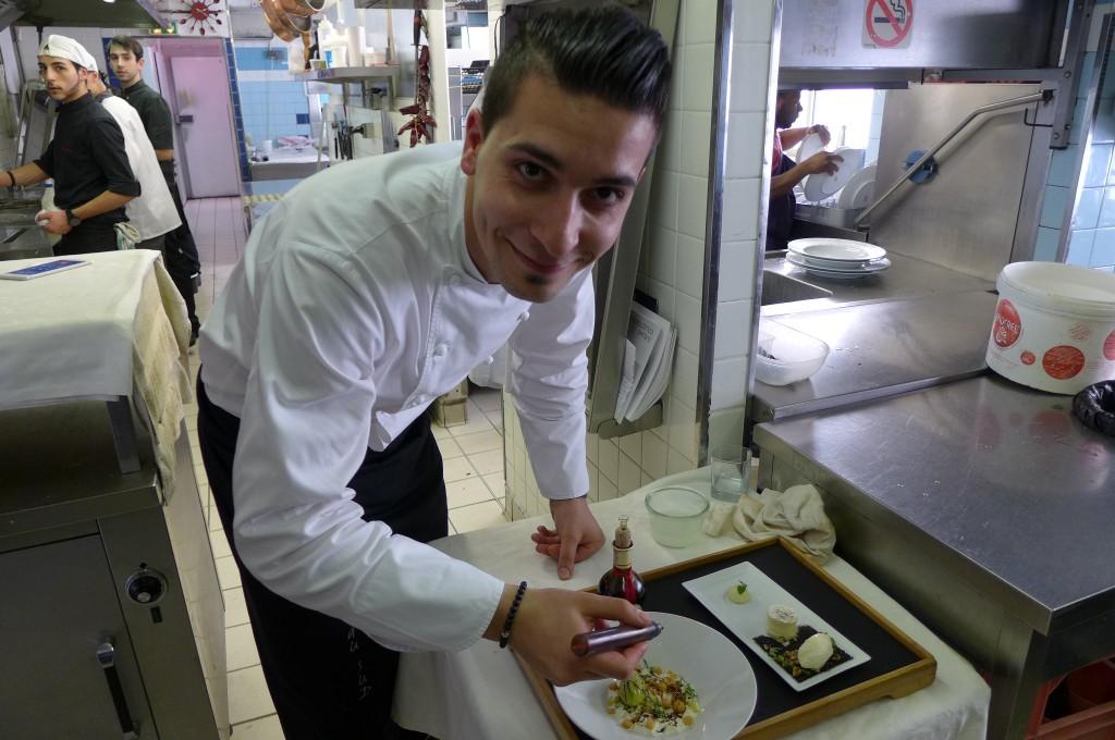 Ludovic Turac en cuisine © GP