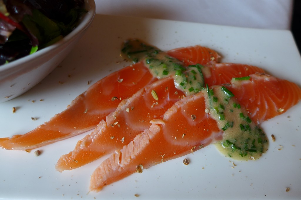 Saumon cuit-cru © GP