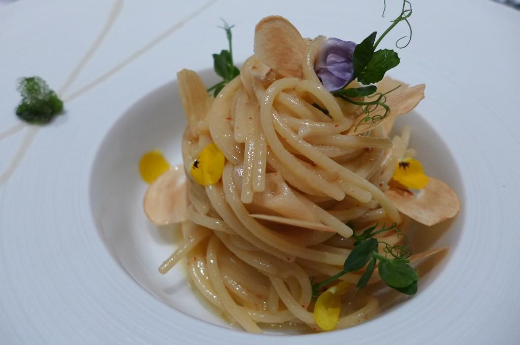 Spaghetti ail, huile d'olive © GP