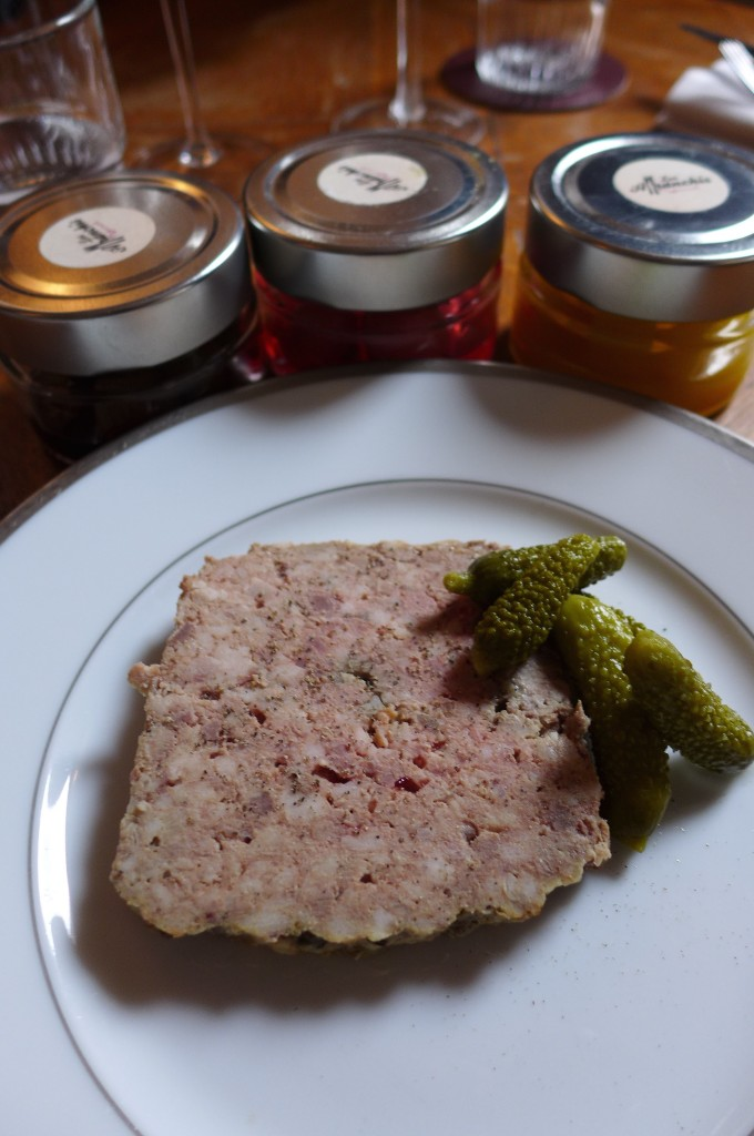 Terrine et pickles © GP