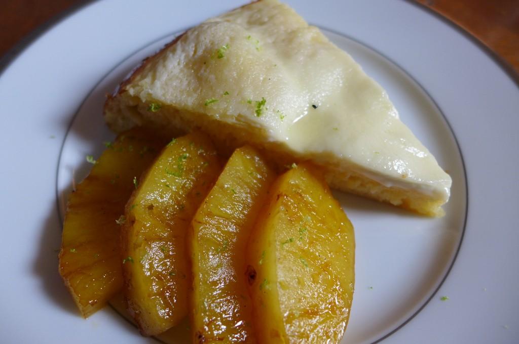 Galette bressanne et ananas© GP