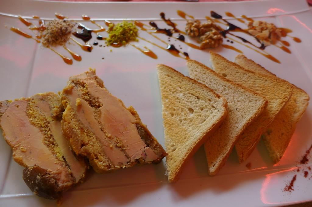 Pressé de foie gras aux mirabelles ©GP