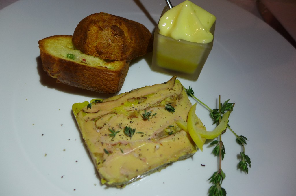Foie gras au citron © GP
