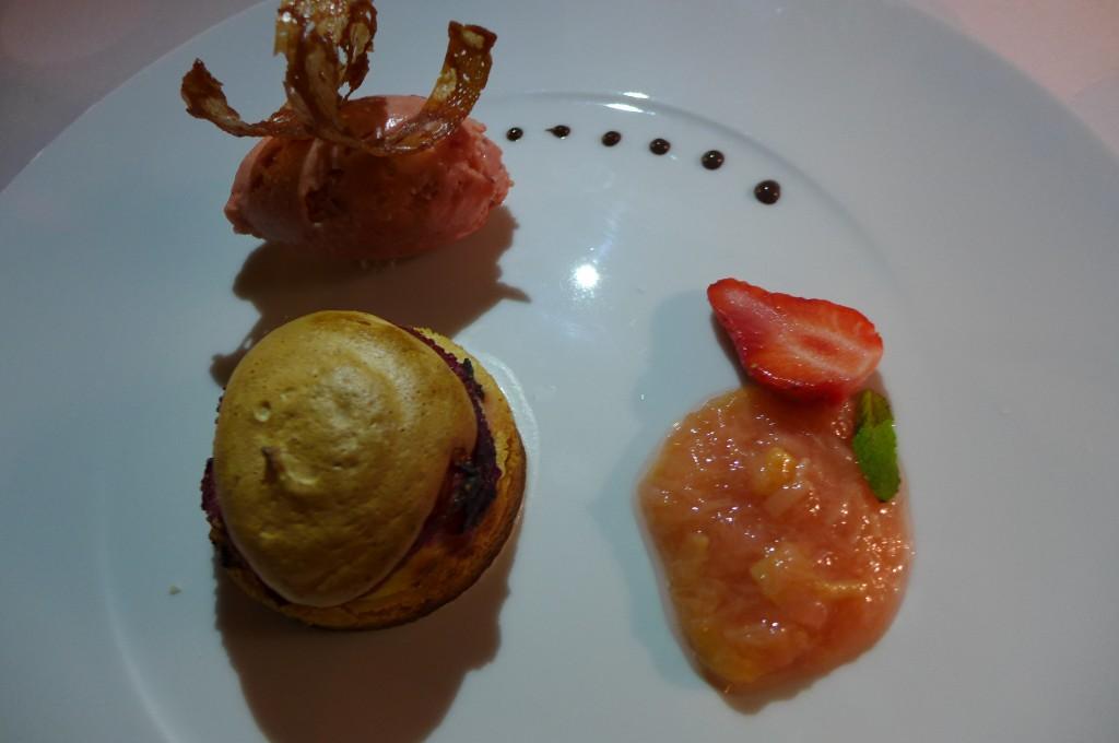 Sablé à la rhubarbe ©GP