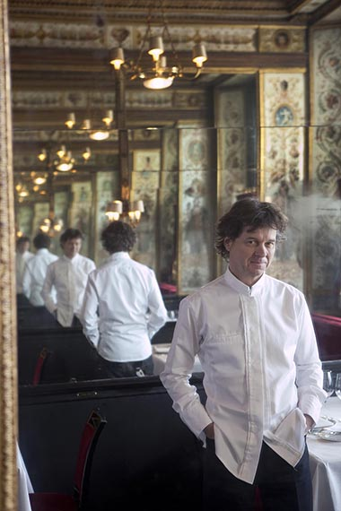 Europe/France/Paris. Restaurant le Grand Véfour. Guy Martin