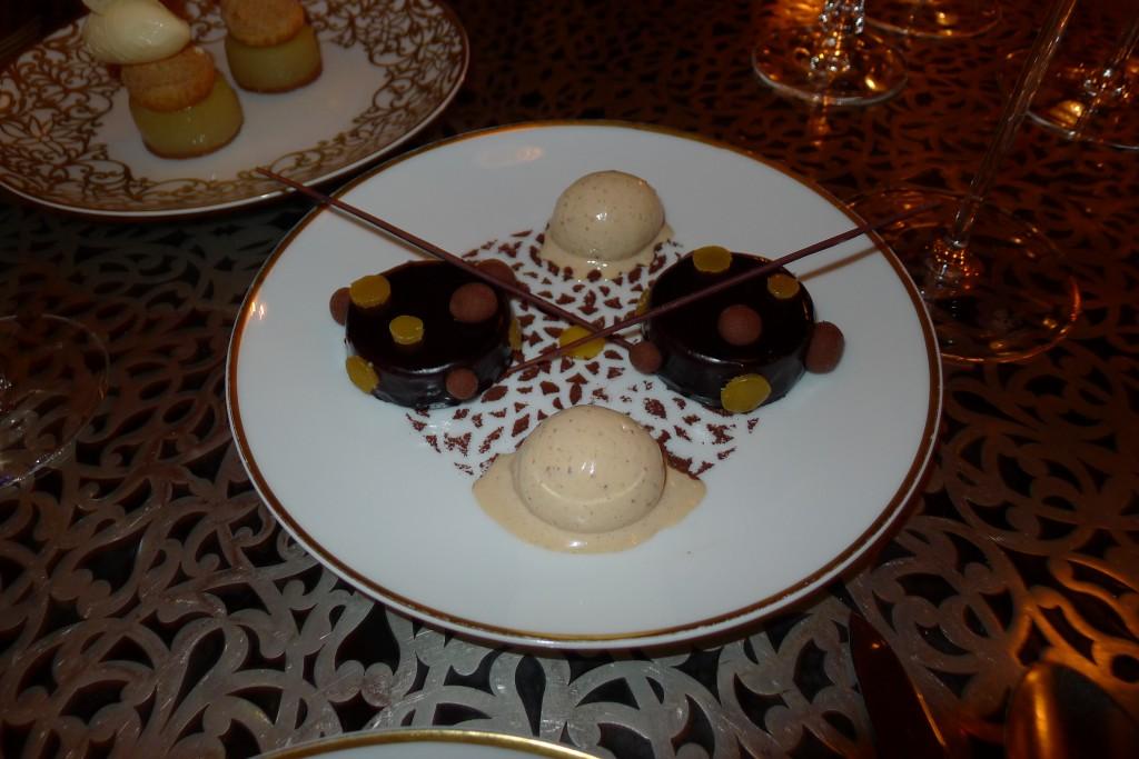 Palet chocolaté à l'huile d'argan et citron confit ©JPE