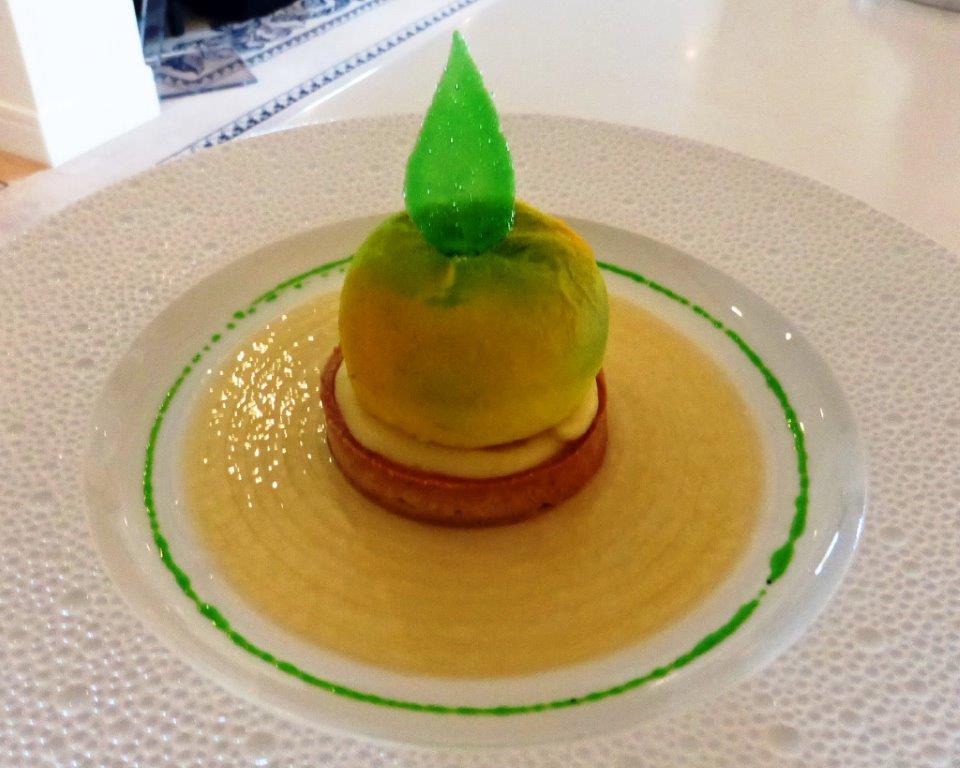 Tarte au citron yuzu © AA