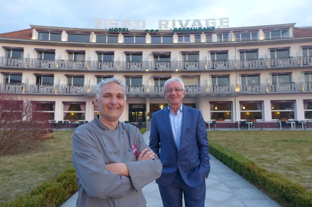 Valerian Privat et Michel Harasse © GP