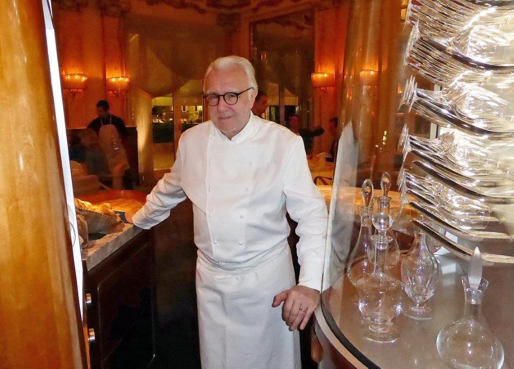 Alain Ducasse à Monaco © AA