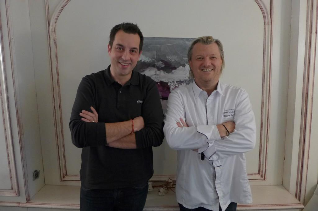Cedric Moulot et Philippe Bohrer © GP