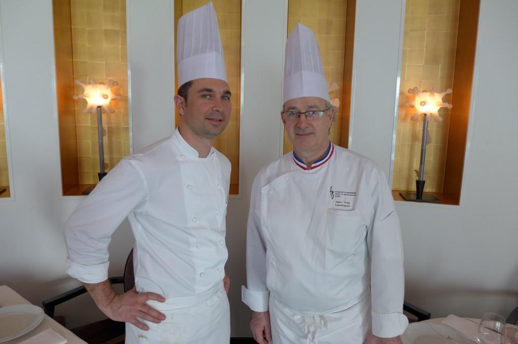 Christophe Schmitt et  Jean-Yves Leuranguer © GP