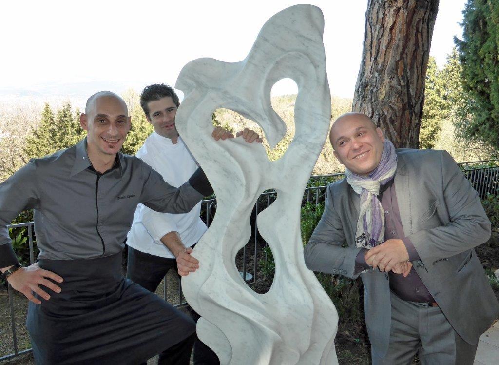 David, Olivier et Giuseppe ©AA
