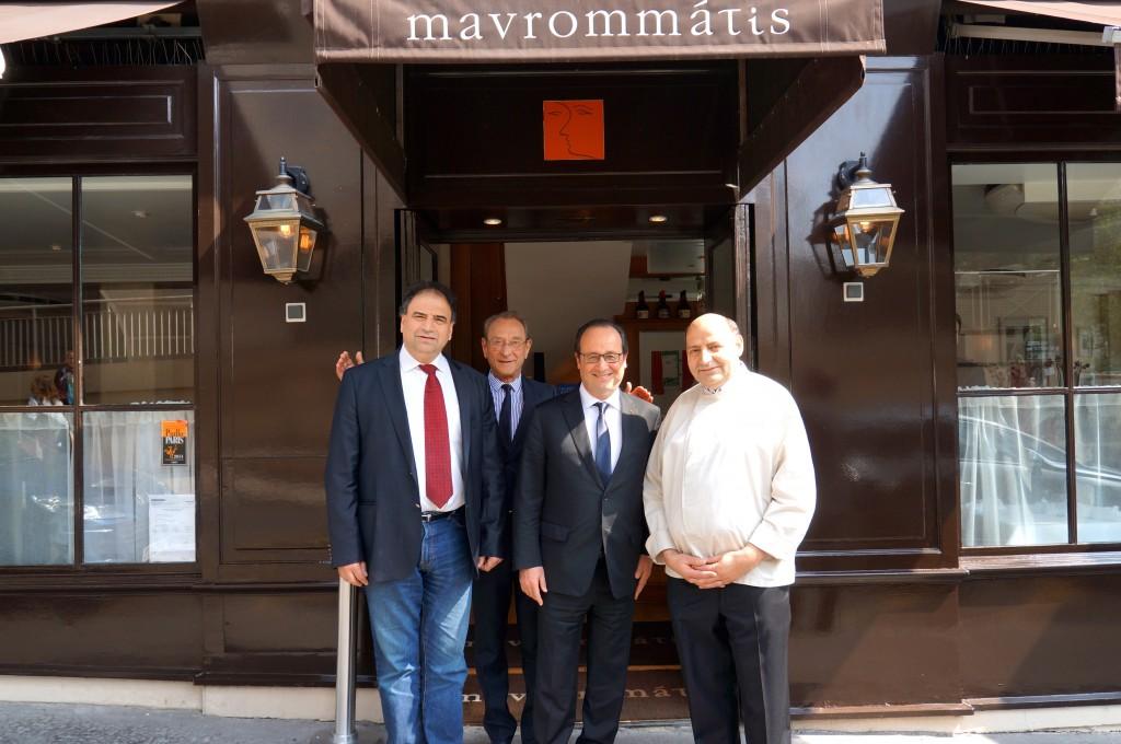 Evagoras Mavrommatis, Delanoé, Hollande, Andreas Mavrommatis© DR