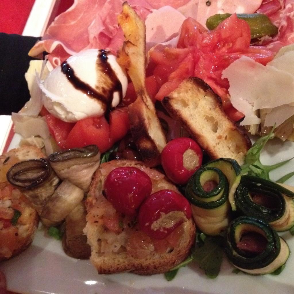 Risi e bici restaurant paris 8e les plaisirs simples de risi e bisi restaurants - Antipasti legumes grilles ...