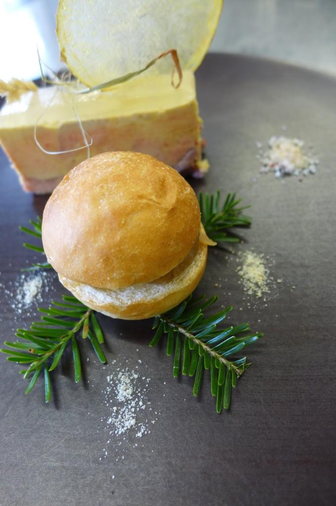 Foie gras et son burger © GP