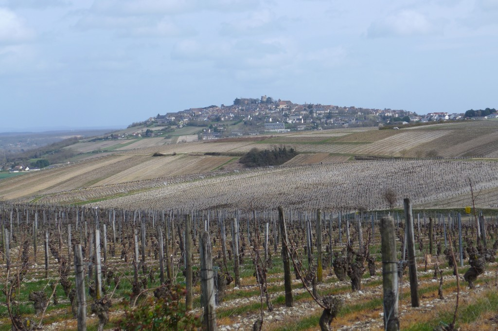 Le village de Sancerre vu de Chavignol © GP