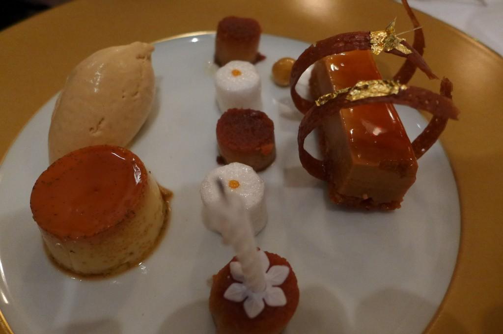 Grand dessert au caramel laitier © GP