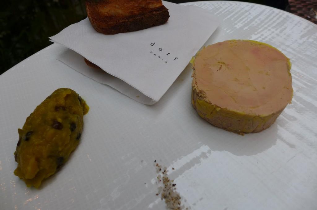 Foie gras et son chutney © GP