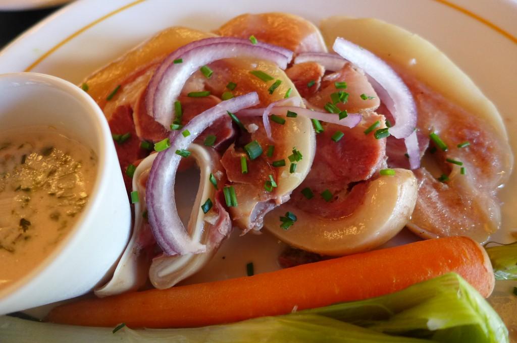 Brasserie georges restaurant lyon une arriv e chez - Cuisiner une tete de veau ...