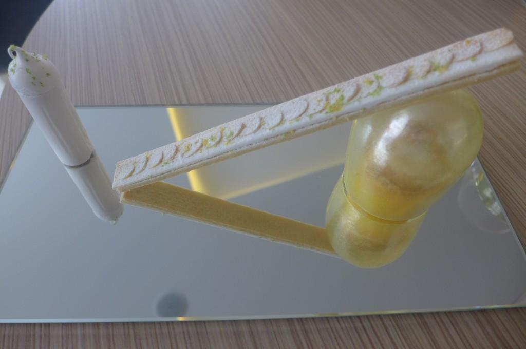 Tarte citron destructurée © GP