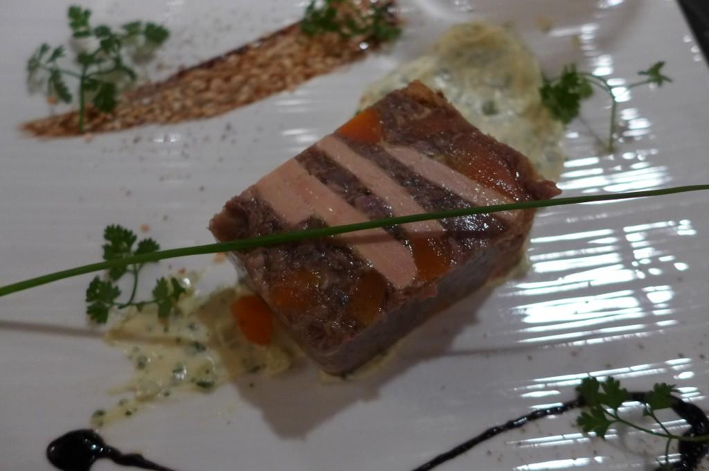 Nougat de boeuf au foie gras  © GP