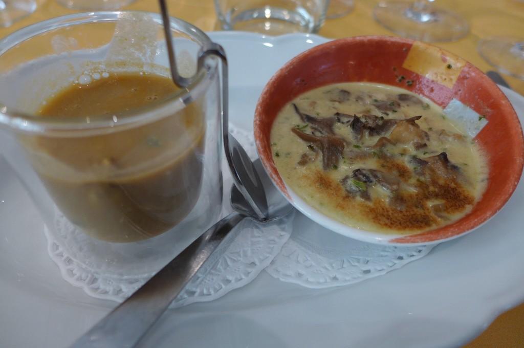 Cabillaud en soupe et grenouilles © GP