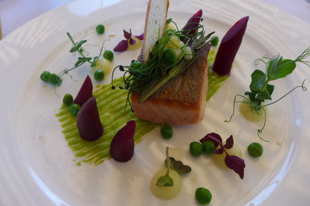 Saumon aux betteraves ©GP
