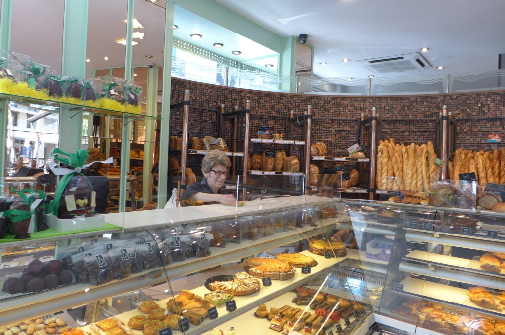 Service boulangerie © GP