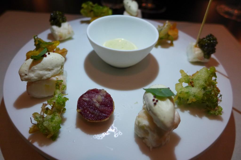 Langoustines en tempura © GP