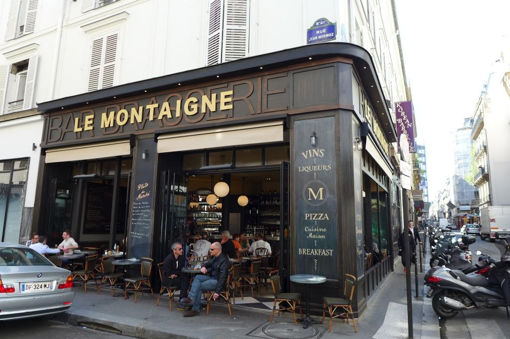 Le Montaigne Restaurant Paris 8e Une Halte Au Montaigne