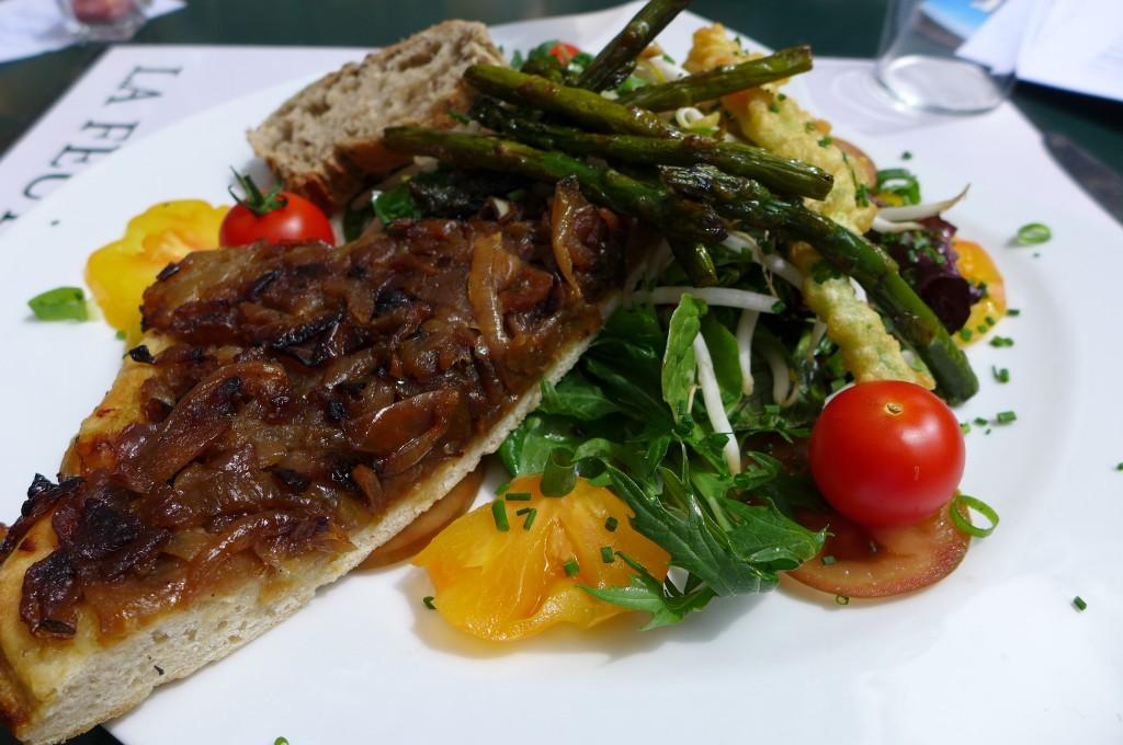 Assiette végétarienne © GP