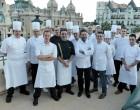 Monaco: le concours des pâtissiers de La SBM pour l'année de la Russie.