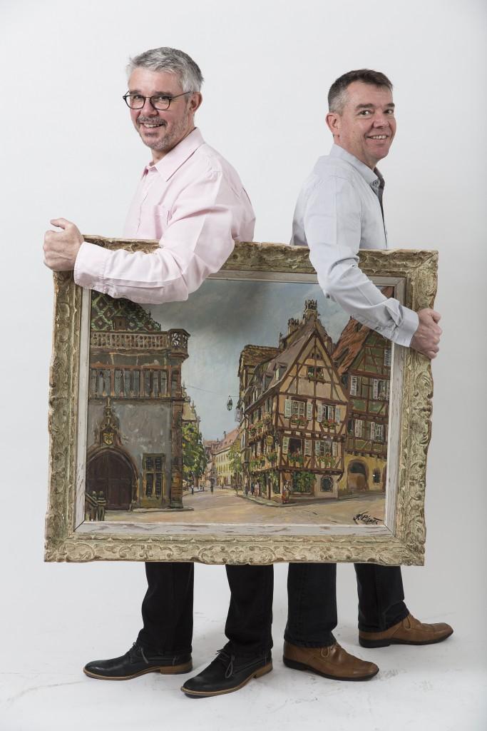 Emmanuel et Lionel Wurms ©DR