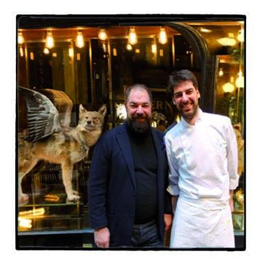 Raf et Max Alajmo, Caffè Stern © GP