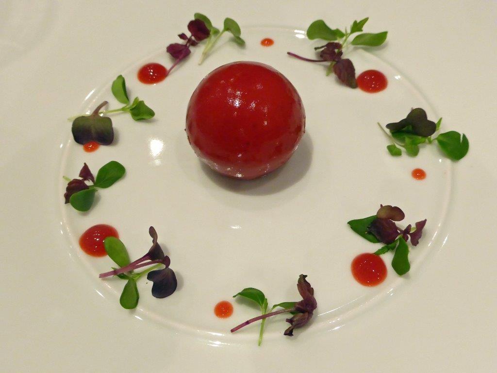 Sphere de foie gras ©AA