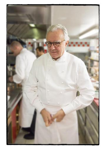 Alain Ducasse © Maurice Rougemont