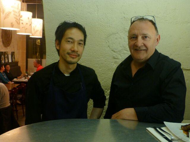 Isamu Motoda et Gilles Lamiot © DC