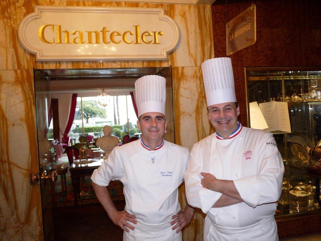Jean Denis Rieubland et Christophe Roure © AA