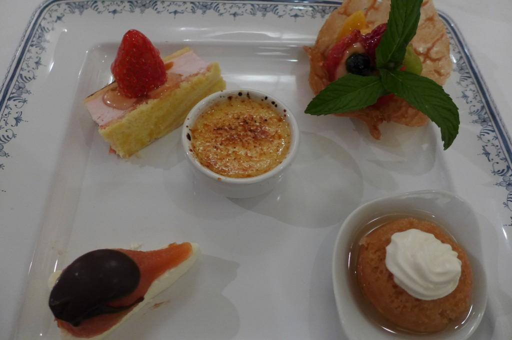 Les desserts © GP