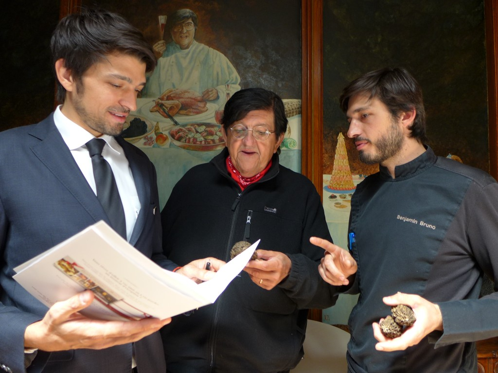 Samuel, Clément et Benjamin Bruno © GP