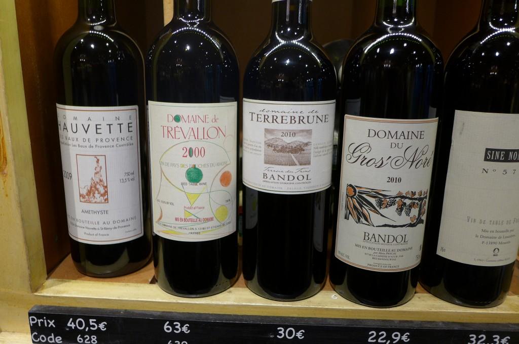Quelques vins © GP