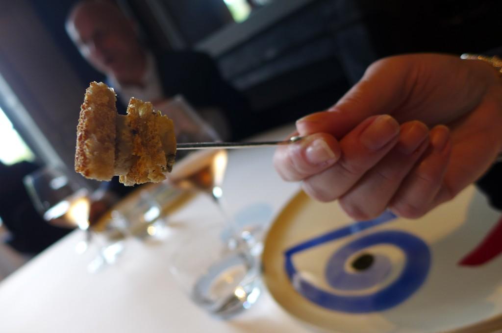 Toast de foie gras © GP