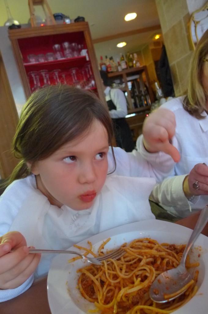 Spaghetti bolognaise © GP