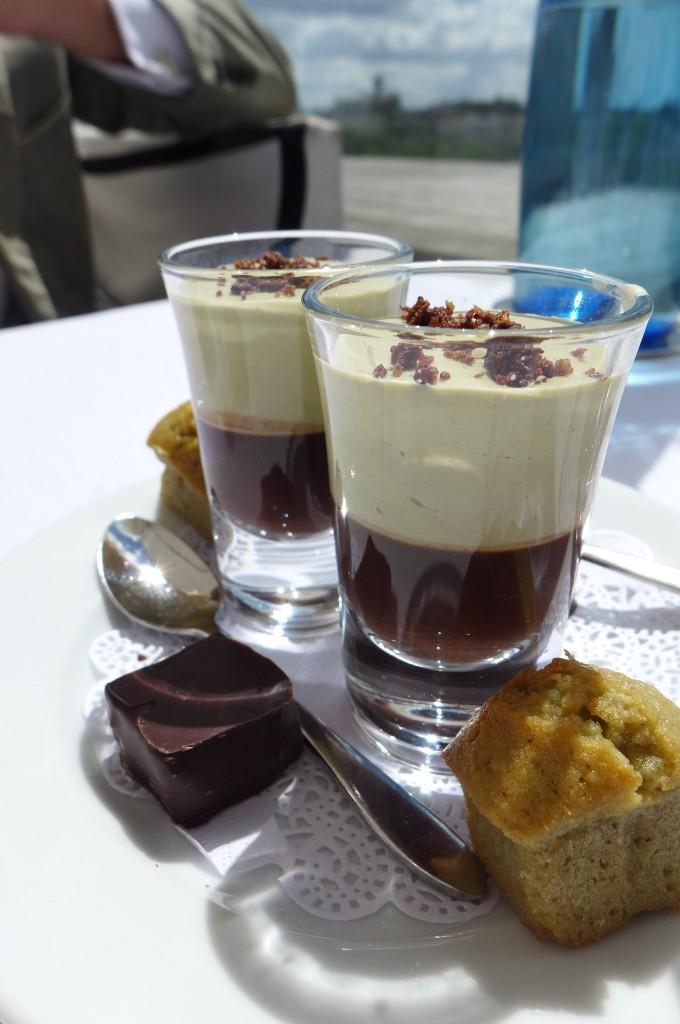 Mousse chocolat, pistache © GP