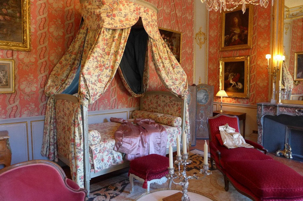 Chambre de Mme de Caumont © GP