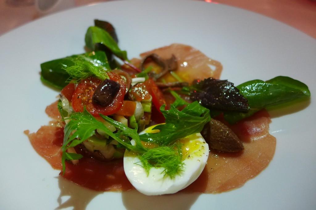 "Salade ""comme à Nice"" ©GP"