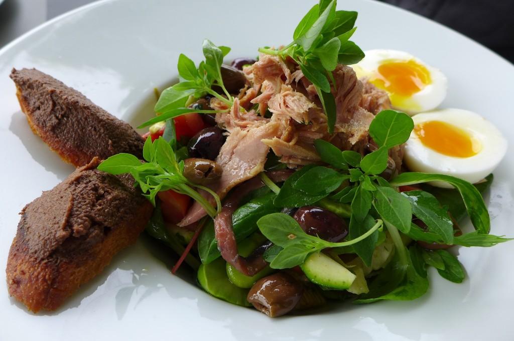 Salade niçoise © GP