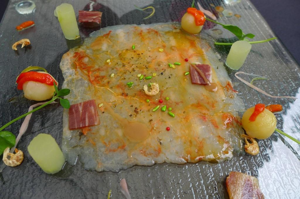 Carpaccio de crevettes © GP