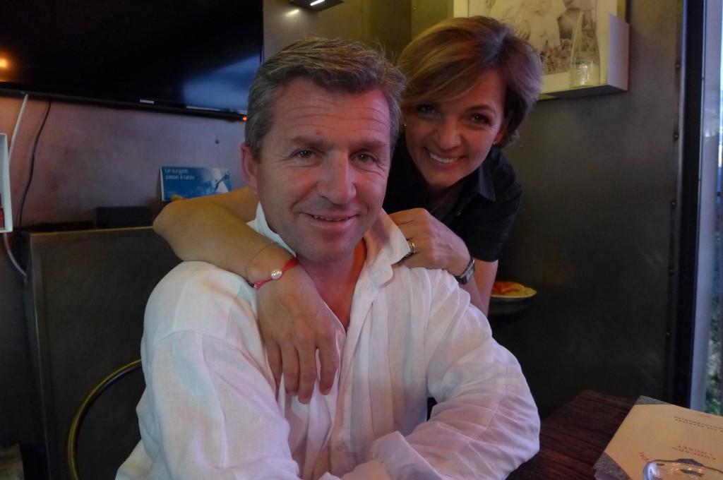 Edouard et Isabelle Loubet © GP