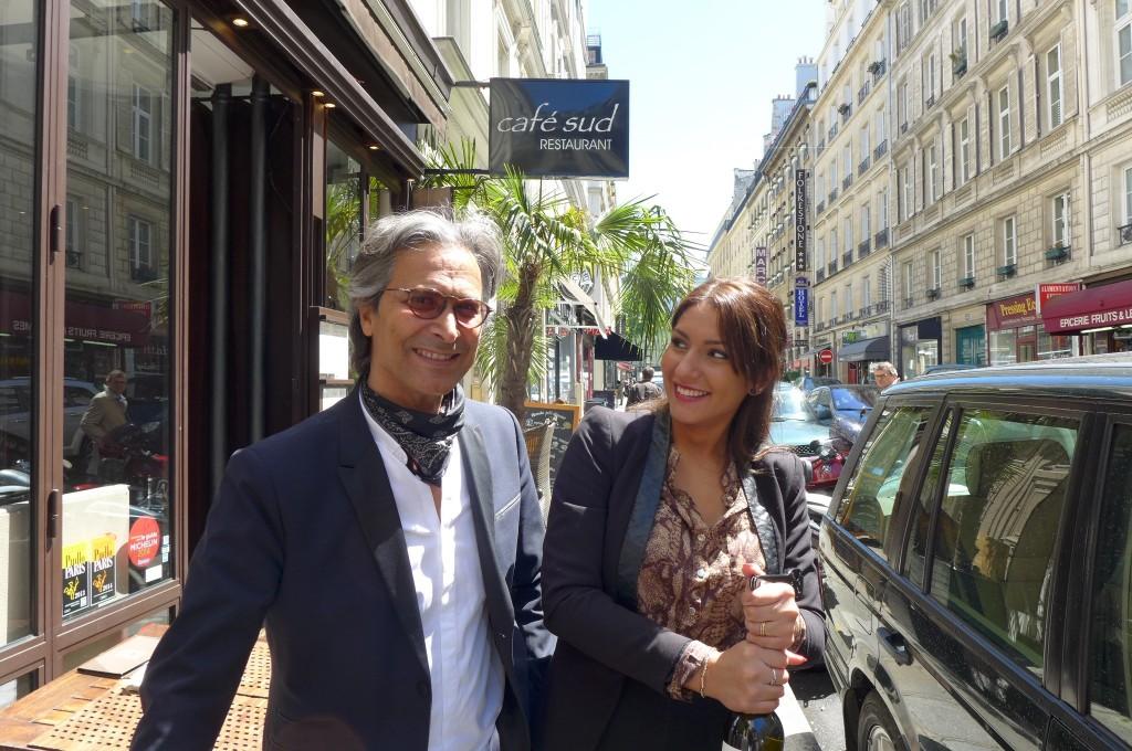 Jean-Luc Younes et le service © GP
